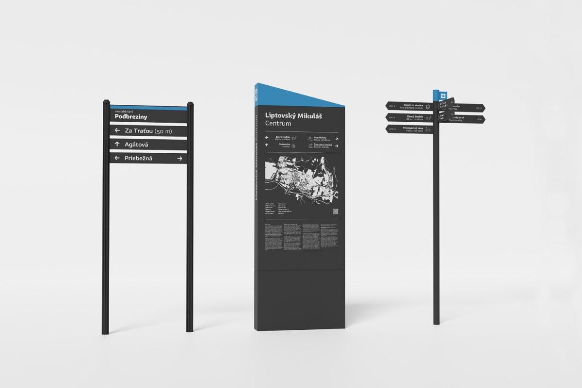 Navigačno-informačný systém Liptovský Mikuláš