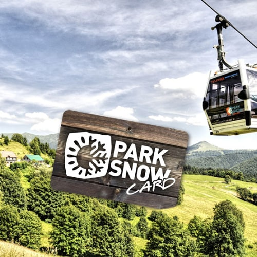 PARK SNOW Donovaly resort visitor's card